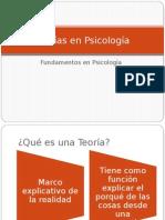 Sesion 1 - Teorías en Psicología