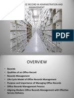 Modern Office Records