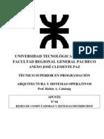 AYSO U03 Redes y Sistemas Distribuidos 2008