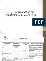 ESQUEMA DE VACUNACIÓN 2010