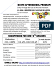 Create and Innovate Enrollment Form - Booksin