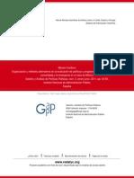 Organización y métodos alternativos en la evaluación de políticas y programas sociales.