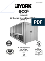 York Air Cooled Screw Liquid Chillers (Style G)