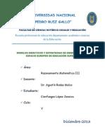Modelos Didacticos y Estrategias de Enseñanza en el Espacio Europeo Superior