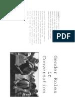 Corinne Monet- Gender Roles in Conversation- English translation