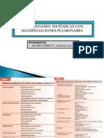 1 Enfermedades Sistemicas Con Manifestaciones Pulmonares.ppt - 2012