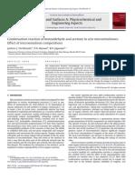 Benzaldehid and Aseton-Aldol Kondensasi