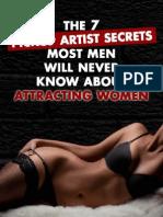 The 7 Pickup Artist Secrets