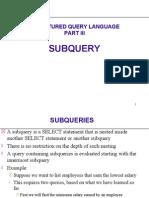 SQL-SUBQUERY