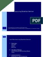 Lean Manufacturing Presentation 1