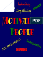 Managing for Motivation