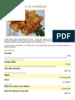 Cartofi Lionezi - Zi de Carbohidrati