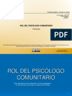 144 Rol Psicologo Comunitario
