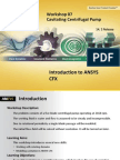 CFX-Intro 14.5 WS07 Centrifugal-Pump