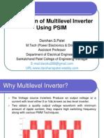 Multilevel Inverter Simulation Using Psim