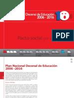 PLAN DECENAL DE EDUCACIÓN