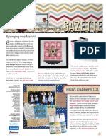 Scrapbooking Gazette 2012-20133
