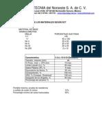 Carácterísticas de base y subbase segun SCT