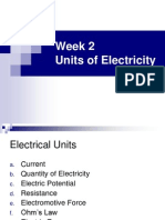 Units of Electricity
