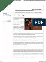 04-12-13 BOLETÍN-828 Incluye Senado equidad de género en Reforma Política