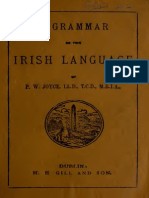 A Grammar of the Irish Language (1878)