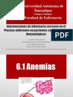 Equipo nº5 Unidad 6 AFECCIONES HEMATOLOGICAS