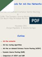 Adhoc Routing Protocols