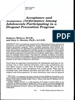 Peer Group Acceptance and