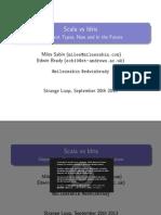 Scala vs Idris