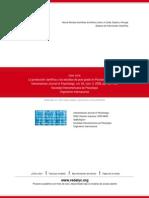 La producción científica y los estudios de post grado en Psicología en el Perú