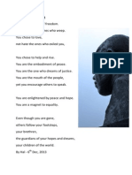 Mandela Poems - tributes to a great man