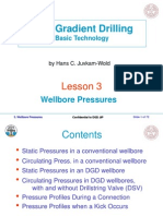 Lesson 3. Wellbore Pressures