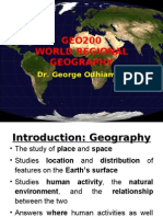 GEO200 World Regional Geography