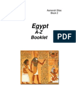 Egypt a-Z Booklet