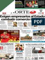 Periódico Norte de Ciudad Juarez 6 de Diciembre de 2013