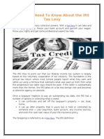 What You Need To Know About the IRS Tax Levy.doc