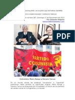 Capitalismo o Socialismo. Un Dilema Que Retorna Siempre. Entrevista a Mario Bunge y Horacio Tarcus