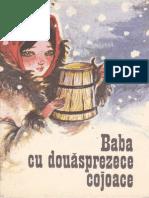 Baba cu douăsprezece cojoace de Simion Florea Marian
