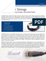 RBRconcerto Thermistor String