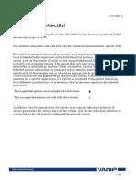 IEC101 Profile Checklist Datalist 6.23