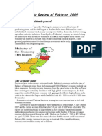 Economic Review of Pakistan 2009