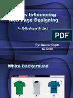 Factors Influencing Web Page Designing