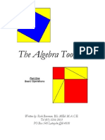 Algebra Toolbox Part 1