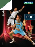 Yonex Catalogue 2010-2011