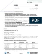 3015 - Prefabrication Primers