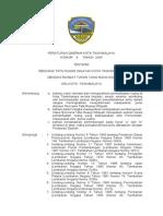 Peraturan Daerah Kota Tasikmalaya Nomor 8 Tahun 2004 Tentang Rencana Tata Ruang Wilayah Kota Tasikmalaya