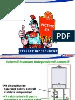 31096 Centrala Termica in Condensare Victrix 50 Curs Tehnic Instalare Independenta