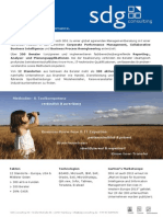 SDG Consulting AG Factsheet
