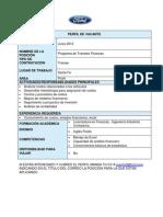 Programa de Trainees Finanzas