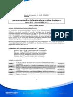 Notification de décision _ JM HAMONT _ CDPI _ 13nov2013